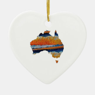 SO VAST AUSTRALIA CERAMIC ORNAMENT