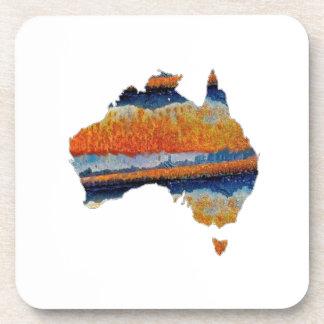 SO VAST AUSTRALIA COASTER