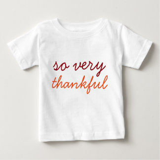 So Very Thankful - Holiday Shirt
