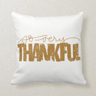 So very thankful pillow