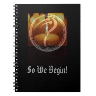 """""""So We Begin"""" Journal"""