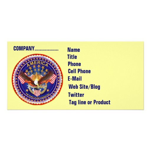 SOA Business Photo Card Horiz. Please See Note