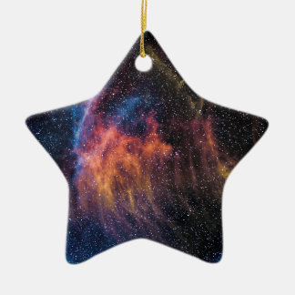 Soace Nebula Ceramic Star Ornament