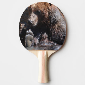 Soaking Bear Ping-Pong Paddle