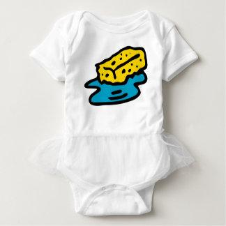Soaking Sponge Baby Bodysuit