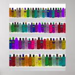 Soap Bottle Rainbow - for bathrooms, salons etc