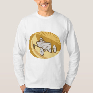 Soap Box Car Mens Long Sleeve T-Shirt