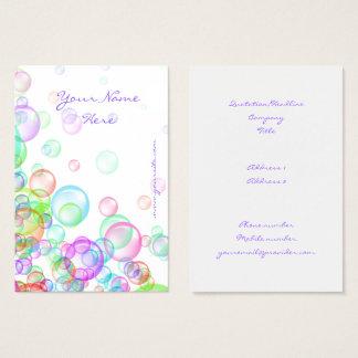 Soap Bubbles Business Card