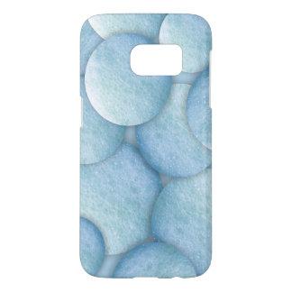Soap Bubbles Dot 1260C Blue Samsung Galaxy S7 Case
