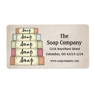 Soap Company Return Address Labels