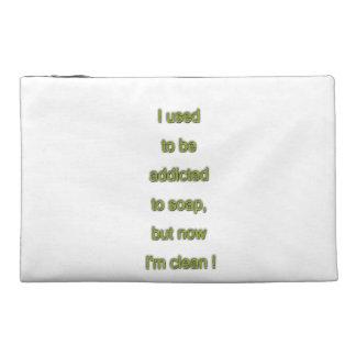 Soap funny text travel accessory bag