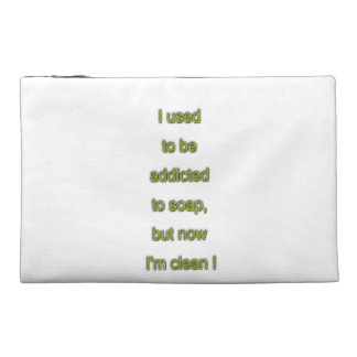 Soap funny text travel accessory bags
