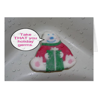 Soap Holiday Card
