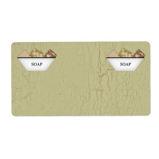 Soap Product Labels
