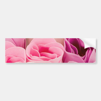 Soap roses bumper sticker