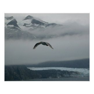 Soar Among The Clouds Poster