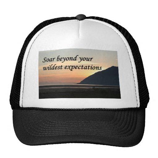 Soar beyond your wildest expectations: Alaska Trucker Hat