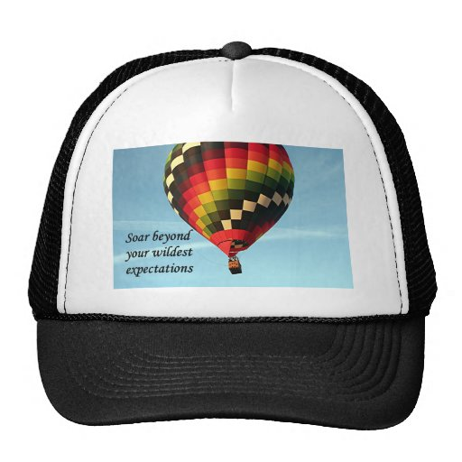 Soar beyond your wildest expectations: balloon 1 hats