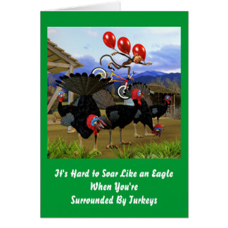 Soar Like an Eagle Birthday Card