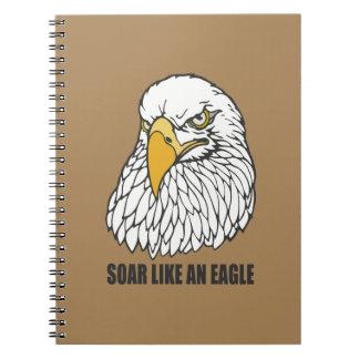 Soar Like an Eagle Spiral Notebooks