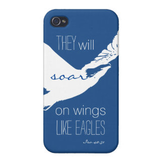 Soar Like Eagles iPhone 4 case