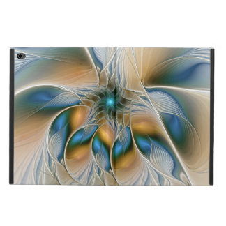 Soaring, Abstract Fantasy Fractal Art With Blue Powis iPad Air 2 Case