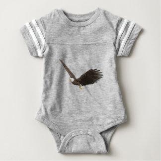 Soaring Bald Eagle Baby Bodysuit