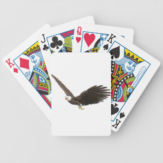 Soaring Bald Eagle Bicycle Playing Cards
