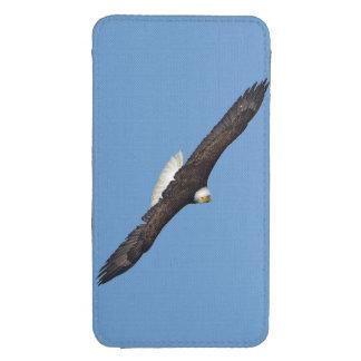 Soaring Bald Eagle Birdlover Wildlife Photo Galaxy S4 Pouch