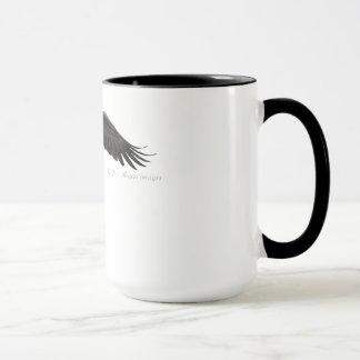 Soaring Bald Eagle - Coffee Mug