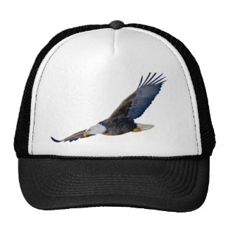 Soaring Bald Eagle Trucker Hats