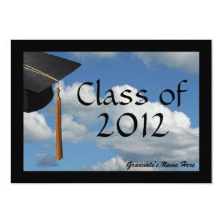 Soaring Blue Sky Graduation Announcement