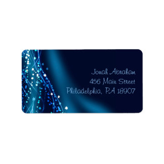 Soaring Dove Bat Bar Mitzvah Return Address Label