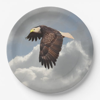 SOARING EAGLE 9 INCH PAPER PLATE