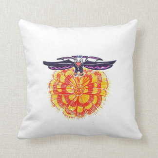Soaring Eagle over the Sun Pillow
