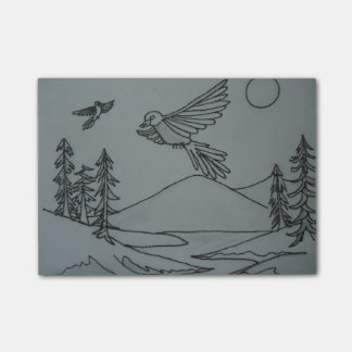 Soaring Eagles Sticky Note