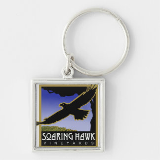 Soaring Hawk Vineyards Keychain