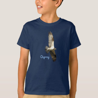 Soaring Osprey Fish Hawk Kids T-Shirt