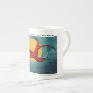 Soaring Sparrow Tea Cup