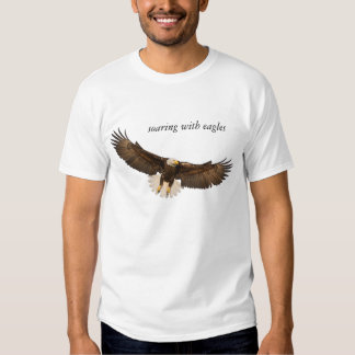 Soaring With Eagles Tee Shirts