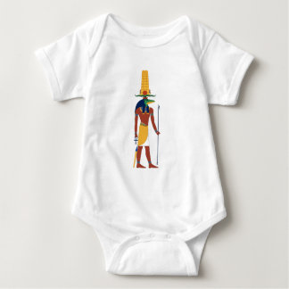 Sobek Crocodile  God Baby Bodysuit