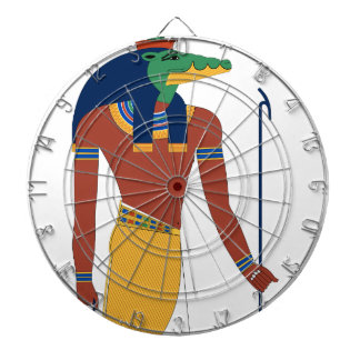 Sobek Crocodile  God Dartboard
