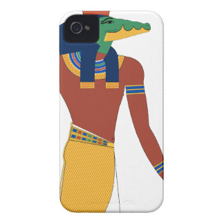 Sobek Crocodile  God iPhone 4 Case-Mate Cases