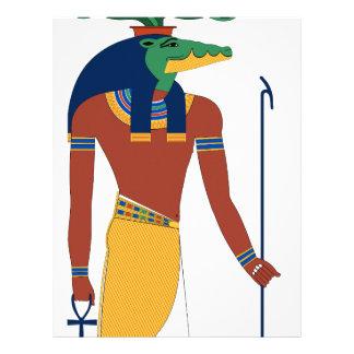 Sobek Crocodile  God Letterhead