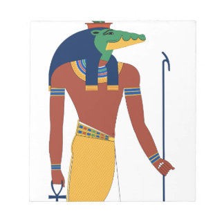Sobek Crocodile  God Notepad