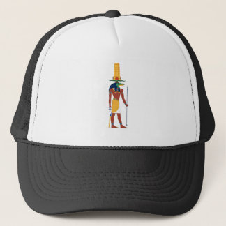 Sobek Crocodile  God Trucker Hat