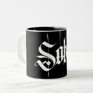 Sober Calligraphy Coffee Mug
