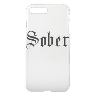 Sober. Gothic Print iPhone 8 Plus/7 Plus Case