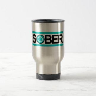 Sober Power Button Travel Mug