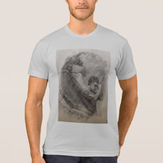 Sober print in soft colors T-Shirt